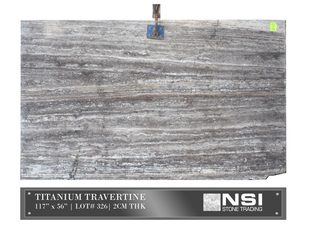 Titanium Travertine